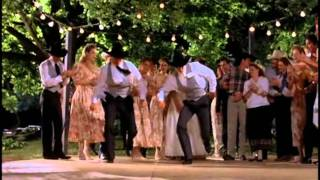 Line Dance Scene from the Movie 8 Seconds