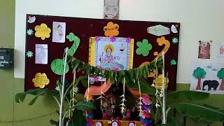 Bharathi School Reddipatti, Pooja Celebrations-2018
