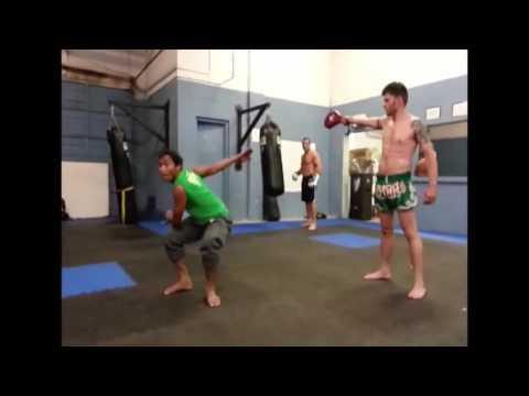 Tony Jaa & Vin Diesel Training