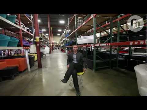 FormDecor Warehouse Crib Tour - Southern California\'s Modern Event  Furniture Rental Provider