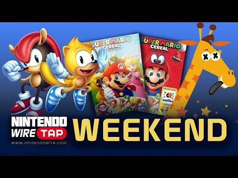 Wiretap Weekend | Mario Cereal Ditches Amiibo, Toys