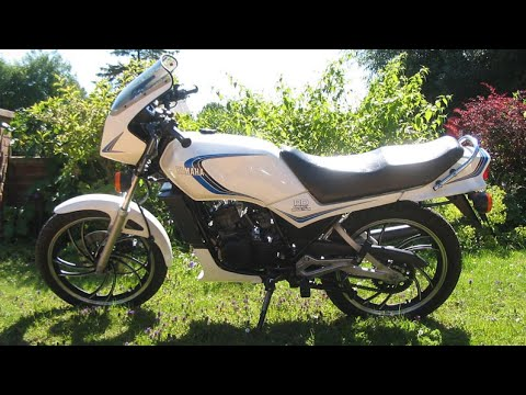 Yamaha RD125 villám