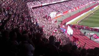 FCN - FCB 1:1 Saison10/11 NORDKURVE BLOCK 8 ULTRAS NÜRNBERG 1.Bundesliga 09.04.2011