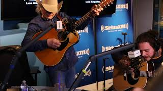 Dwight Yoakam x Post Malone - A Thousand Miles at SiriusXM Radio (2) Video