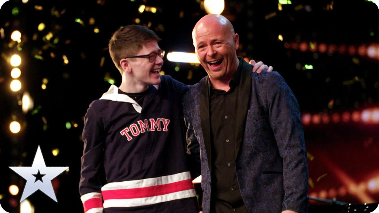 GOLDEN BUZZER Dreams come true for Ant & Dec's Greatest Showman Jon Courtenay | Auditions |