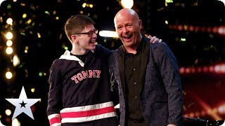 GOLDEN BUZZER: Dreams come true for Ant and Dec's Greatest Showman Jon Courtenay | BGT 2020
