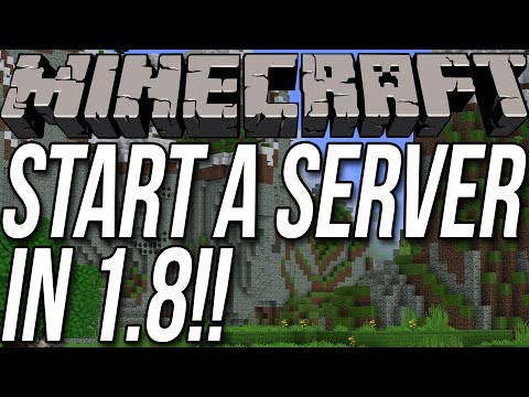 How To Start Server In Minecraft