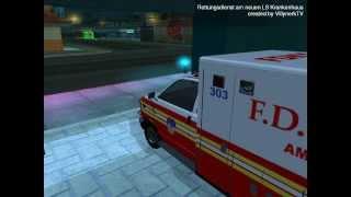 [GTA SA:MP] Mapping - Hospital & Rescue Station Los Santos