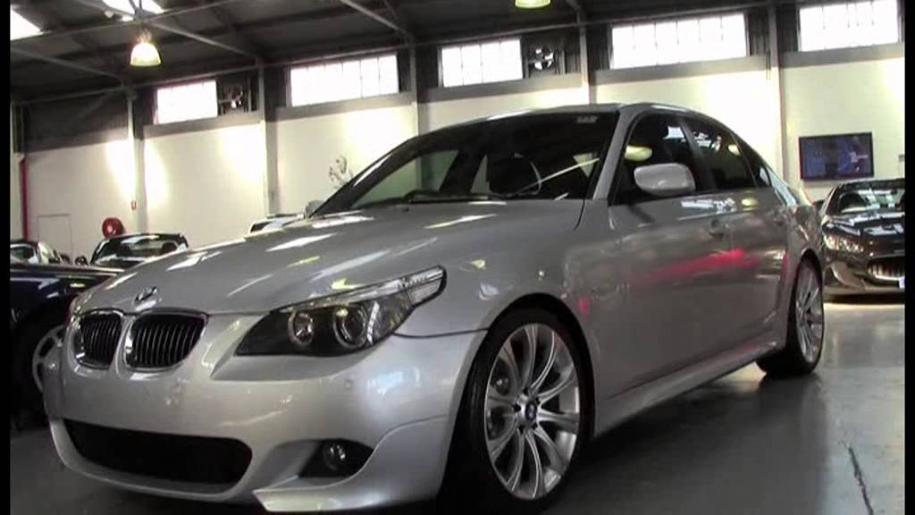 BMW I SIlver YouTube - 2006 bmw 540i