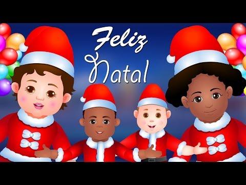 O ESPÍRITO DO NATAL   Feliz Natal   Canção de Natal   Canções Infantis em Português   ChuChu TV