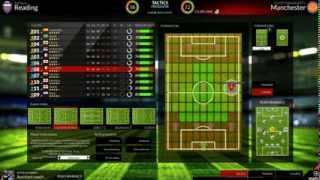 FX Eleven Gameplay - Manchester United #1 - NEW 2014 FOOTBALL MANAGER GAME!