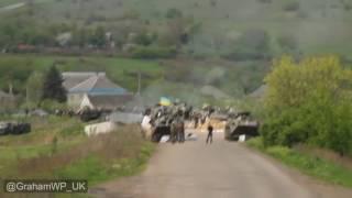 Славянск ретроспективный - апрель  и начало мая 2014