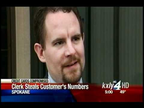 Cellphone store clerk suspected of credit theft