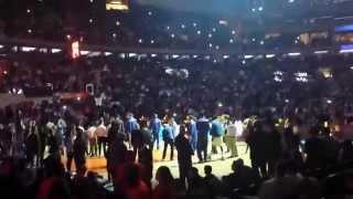 New York Knicks in Madison Square Garden