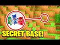 Minecraft; WE FOUND PJ MASKS SECRET BASE! (Ps3/Xbox360/PS4/XboxOne/PE/MCPE)
