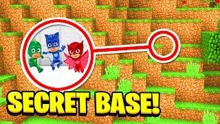 Minecraft; WE FOUND PJ MASKS SECRET BASE! (Ps3/Xbox360/PS4/XboxOne/PE/MCPE)