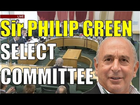 Sir Philip Green's FULL evidence to select committee on BHS