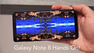 Samsung Galaxy Note 8 Hands On!