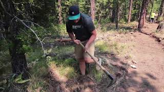 Evergreen Mountain Bike Alliance Central Washington Chapter Canyon NO 2 Work Party 080418