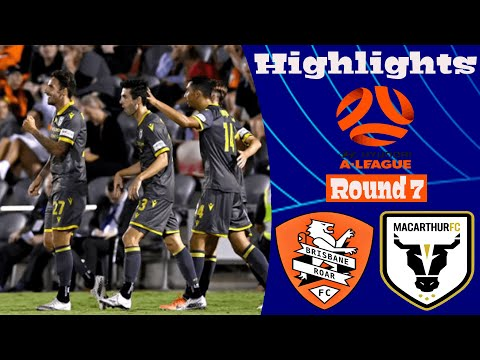 Brisbane Roar Macarthur FC Goals And Highlights