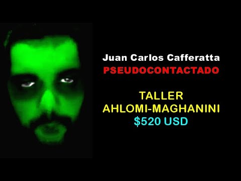 Juan Carlos Cafferatta - FALSO CONTACTADO - Taller Ahlomi-Maghanini: $520 USD