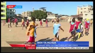 KTN Leo: Mchezaji wa zamani wa soka Boniface Ochieng alifungua shule ya mafunzo ya soka Mombasa