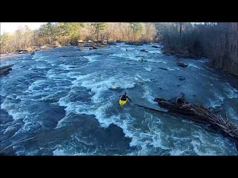 City of Porterdale - Yellow River - RAW Video