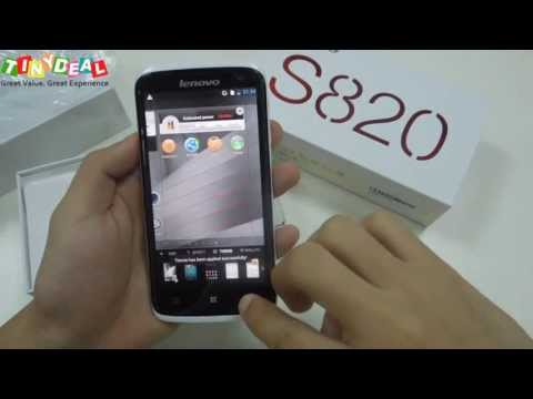"Lenovo S820 review, ""smart"" android phone for women! Best deal from tinydeal"