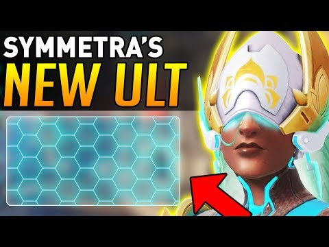 Overwatch | Symmetra's New Ultimate is INSANE! (5000HP SHIELD!)