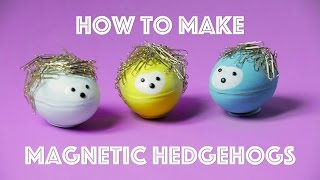 How to Make a Magnetic Hedgehog | Crafts | Parents