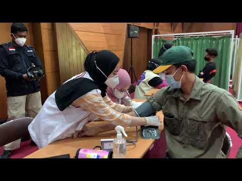 Pelaksanaan Vaksinasi di BBPK Makassar