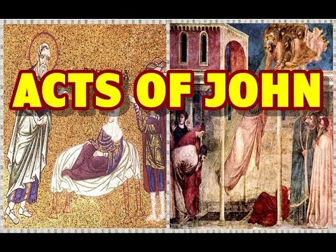 Acts Of John 📜 Untold In The Bible!