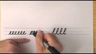 How To Write In Cursive // Lesson 12 // A Complete Course // Free Worksheets