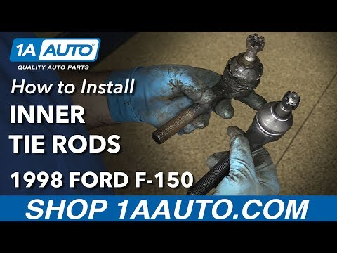 How to Replace Front Inner Tie Rods 97-03 Ford F-150