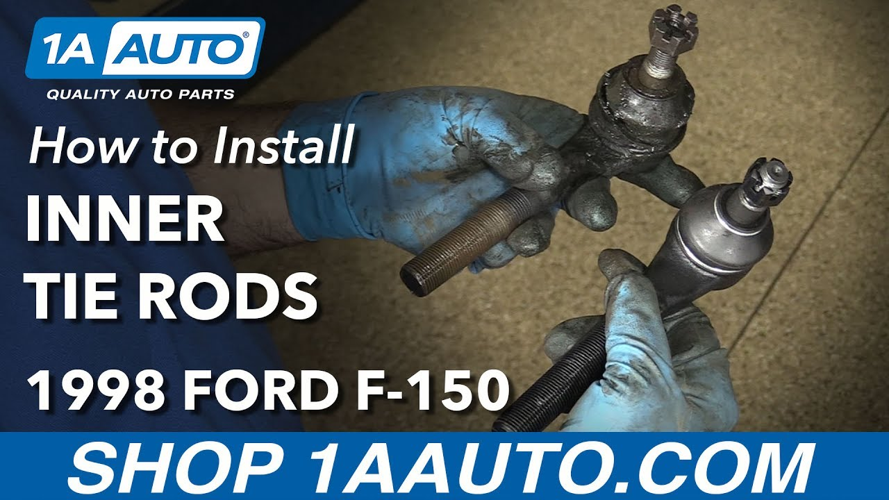 How To Replace Front Inner Tie Rods 97 03 Ford F 150 Youtube