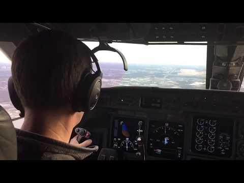 Gulfstream V first landing