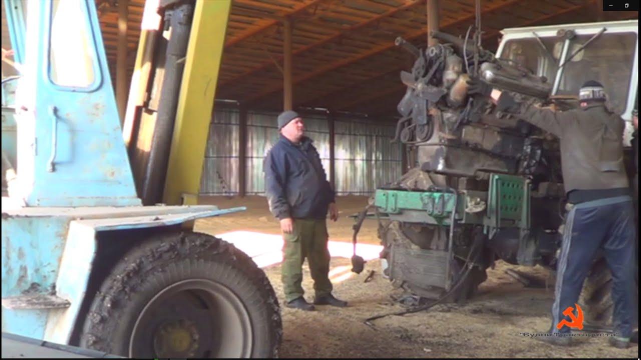 Прицеп для трактора Т-25 :: Трактор Т-25