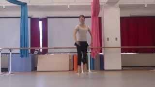 カトル。キャトル。バレエの動き(ジャンプ)です。 大人からバレエを始...