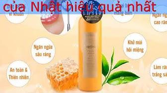 Cách sử dụng nước súc miệng Propolinse của Nhật hiệu quả nhất