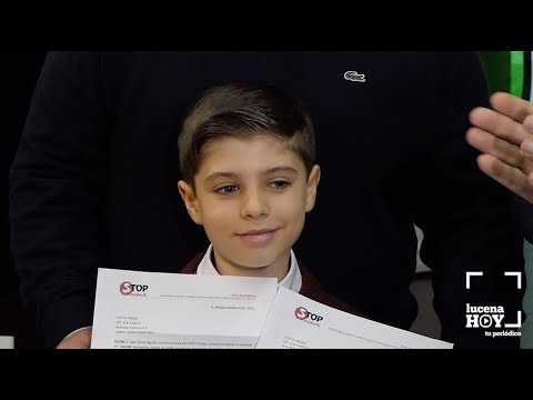 """VÍDEO: Este niño es Javier González, alumno del CEIP El Prado, y ha ganado el Concurso Nacional """"Vamos andando al cole"""""""