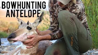 Public Land Antelope Hunting with my Bow!!