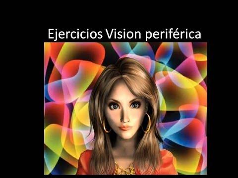 Ejercicios para practicar la vision periferica y ver el aura