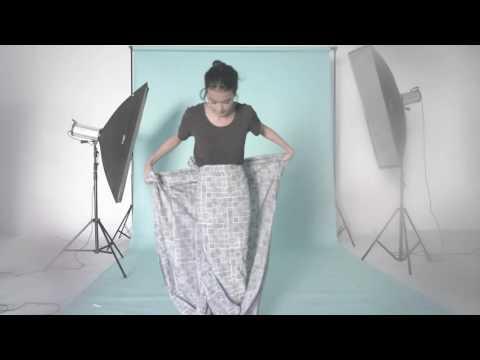 Eva Celia Berikan Tip Memakai Kain Favoritnya yang Terinspirasi oleh Chitra Subiyakto