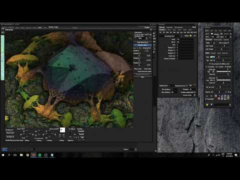 MANDELBULB3D TUTORIAL - PART 1 - BASIC FRACTAL SHAPE