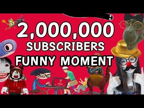 FUNNY MOMENTS ฉลองครบรอบ 2,000,000 ซับ รวมฮาๆ zbing z.