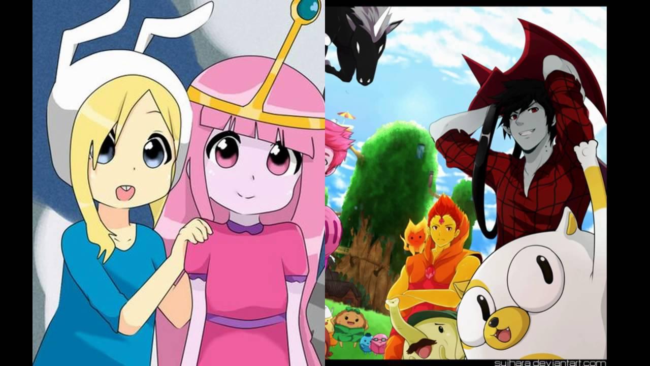 R O D Anime Characters : O incrível mundo de gumball e hora aventura anime youtube