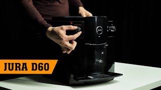 краткий обзор и распаковка кофемашины Jura D60, сравнение с C60