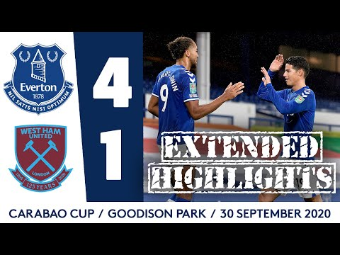 CALVERT-LEWIN HITS ANOTHER HAT-TRICK! | EVERTON 4-1 WEST HAM: EXTENDED HIGHLIGHTS