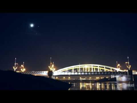 Księżyc + Mars + Wenus + ISS, 5 XII 2016 W Poznaniu.