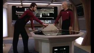 Auto destruct on Star Trek
